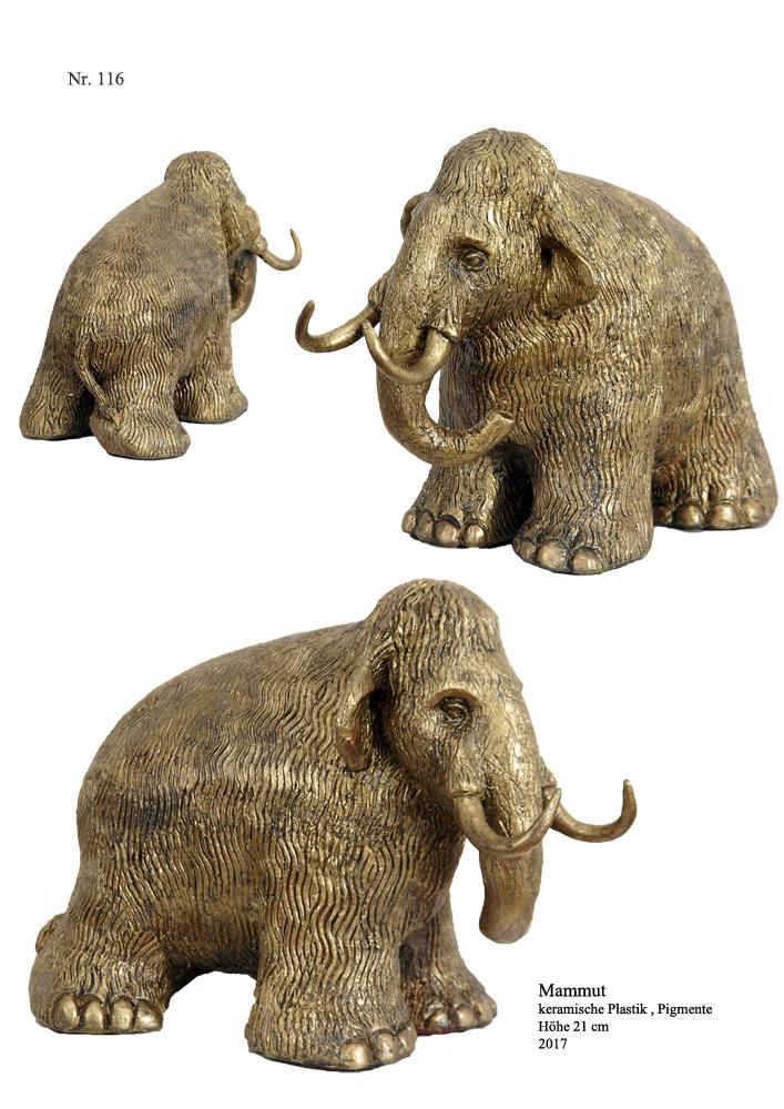Kleines Wollmammut