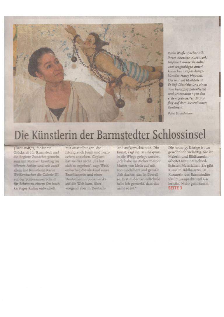 Rainer Strandmann Holsteiner Allgemeine zeitung 25.7
