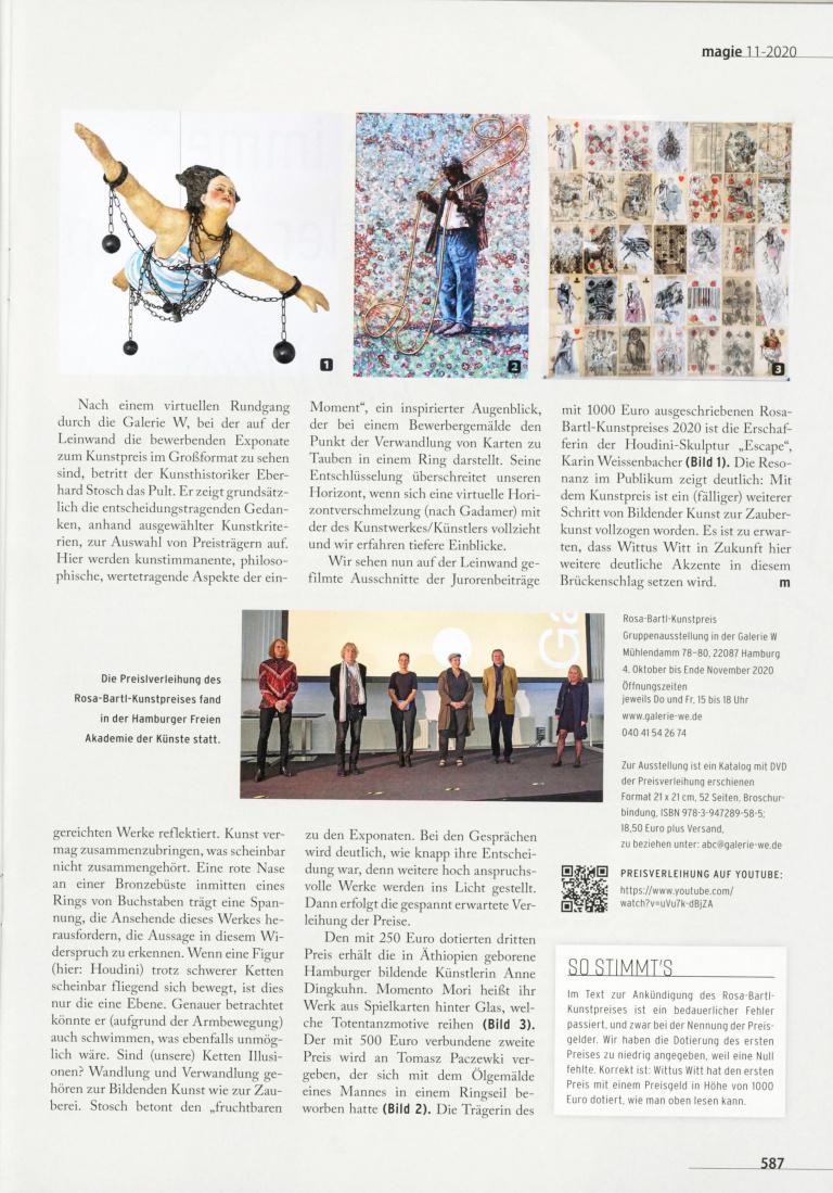 Roman Ertl Oktober 2020 Magie Rosa Bartl Kunstpreis-2