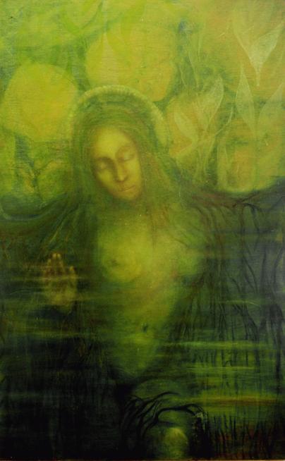 Grüne Madonna