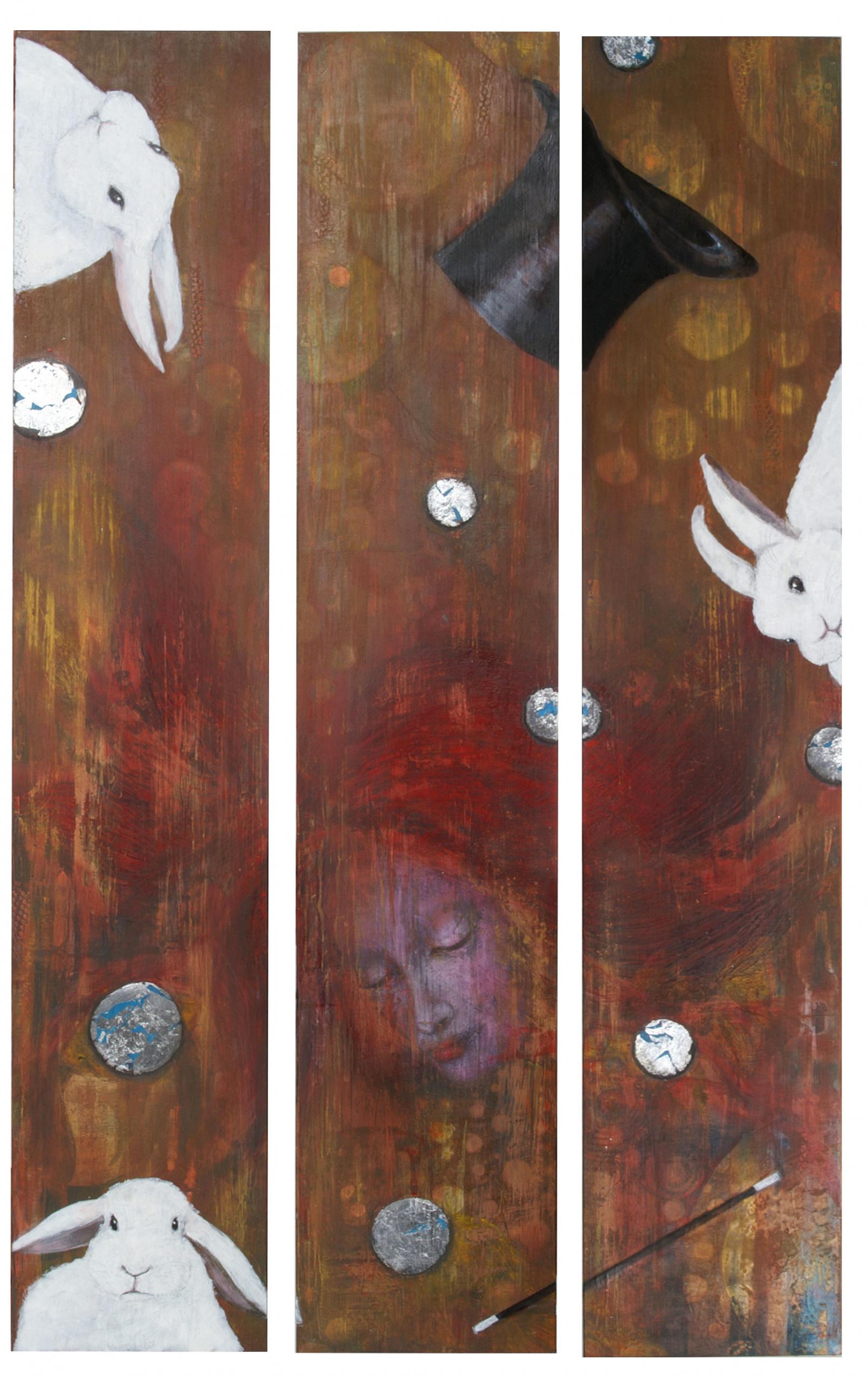 'Der Magische Moment' Triptychon